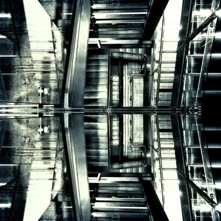 Abstract background casually machinery space                                             photo