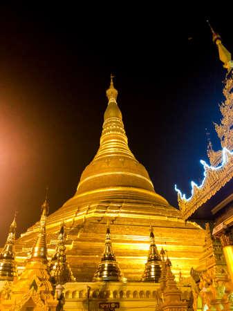 Shwedagon Pagoda. Yangon, Myanmar (Burma)., Shwedagon Pagoda Temple in Yangon