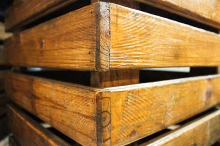 Wooden stool chair, wooden box for chair, Detail of the wooden box for chair 版權商用圖片