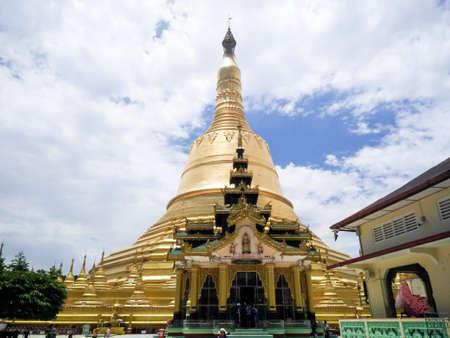 Shwedagon Pagoda. Yangon, Myanmar (Burma), Shwedagon Pagoda Temple in Yangon