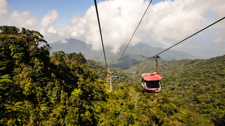 Cable car to Genting, Malaysia photo