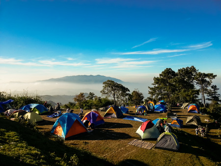 Hills top camp ground photo