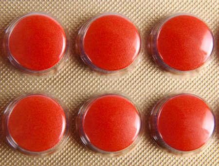 blister: Blister pack of pills