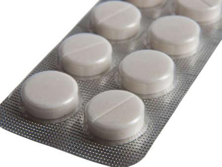 medical bills: Blister pack of pills