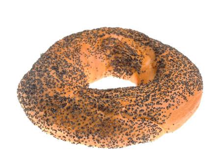 bublik: Bagel with poppy seeds Stock Photo