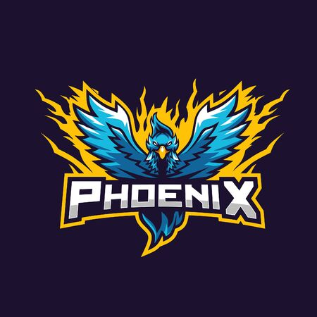 Blue phoenix awesome for gaming squad