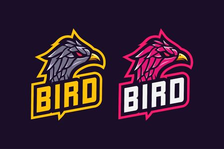 Bird awesome logo design esport
