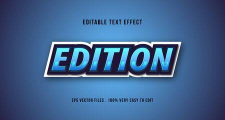 Esport 3D text effect, editable text