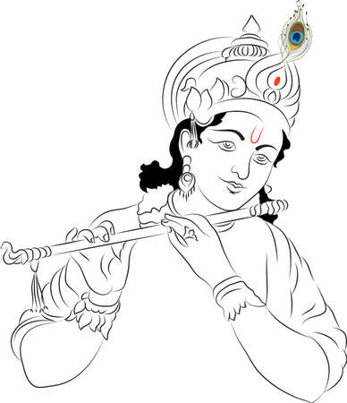 Krishna Illustration