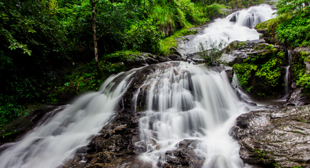 Irrupu Falls near Coorg in South India Stock fotó