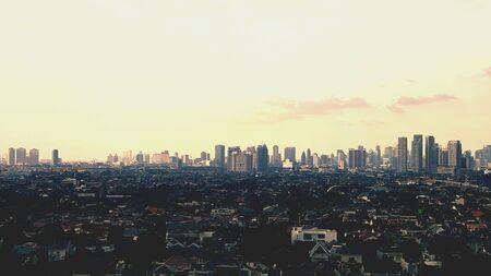 jakarta: Jakarta evening view