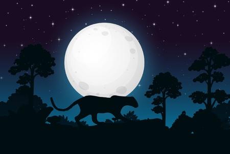 Black Panther Illusztráció