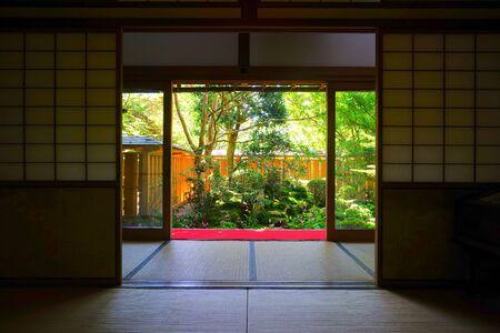 Le jardin japonais au Temple Hosen-in, Kyoto, Japon