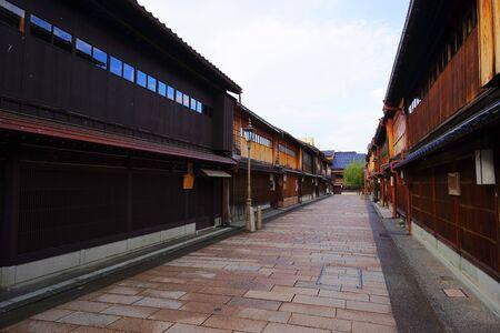 Higashi Chaya District, Kanazawa City, Ishikawa Pref., Japan Stok Fotoğraf