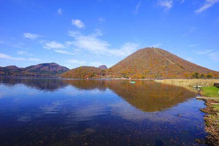 Mt. Haruna and Lake Haruna, Takasaki City, Gunma Pref., Japan