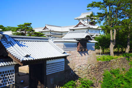 Kanazawa Castle, Kanazawa City, Ishikawa Pref., Japan