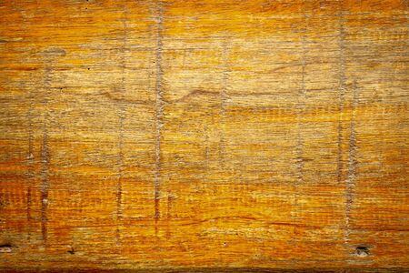 Texture of orange old wood and Scratch photo