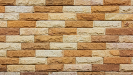 modern colourful  brick wall background texture photo