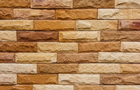 yellow brown brick wall background texture photo