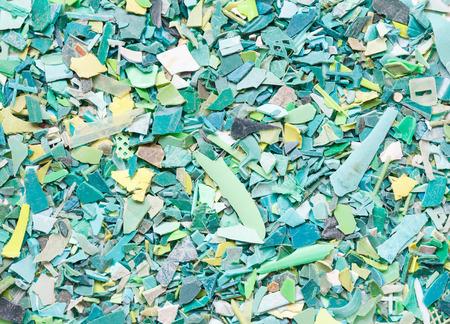 Plastic resin pellets background  photo