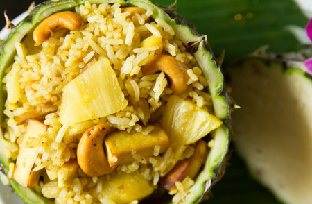 Pineapple Fried Rice  Thai food
