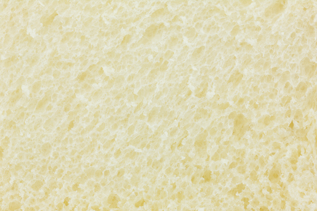 ruffle: Close up of texture white bread