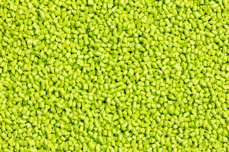 plastics: green plastic resin ( Masterbatch ) for background
