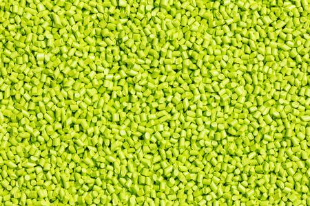 resin: resina de pl�stico verde (Masterbatch) para el fondo