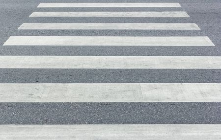 zebra crossing: Crosswalk , Zebra crossing  on the road Stock Photo