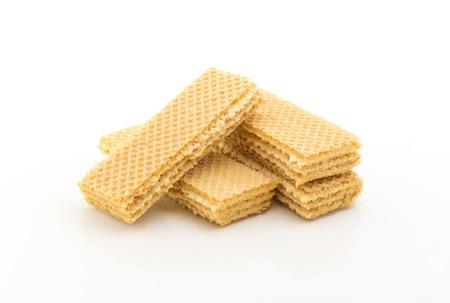 wafers on white background Reklamní fotografie