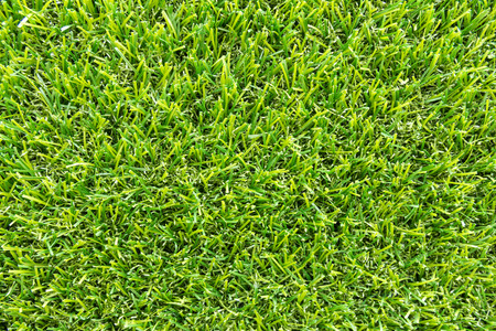 close up view: close up artificial grass background and textured Stock Photo