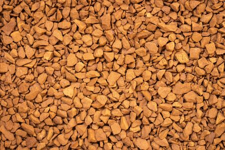 Arabica freeze dried instant coffee for background