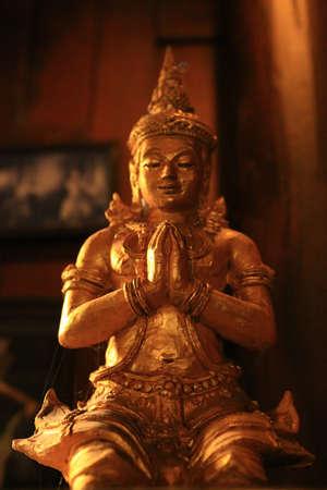 deity: deity sculpture