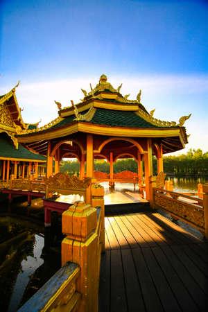 pavillion: chinese pavillion