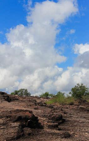 land slide: high land slide Stock Photo