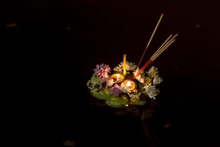 procession: Loy Krathong Lanterns, Chiang MAi, Thailand