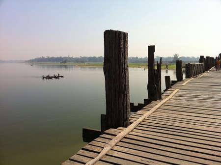 longest: U Bein bridge the longest teak bridge in the world