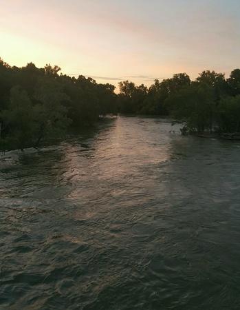 Floating down river Reklamní fotografie