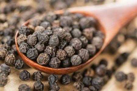 black pepper: black pepper Stock Photo
