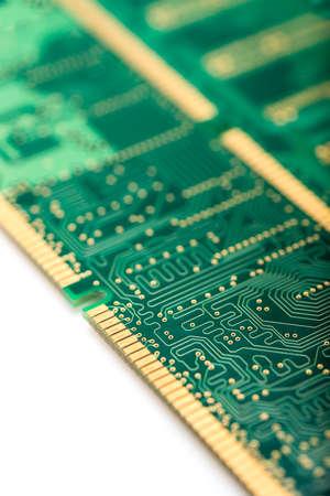 module: close up of memory module