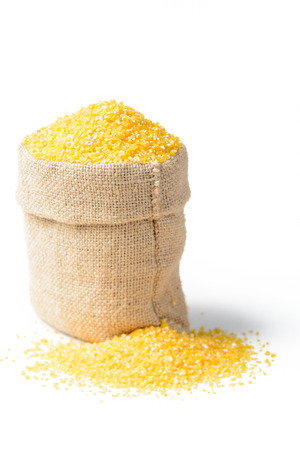 corn meal: raw polenta in the sack