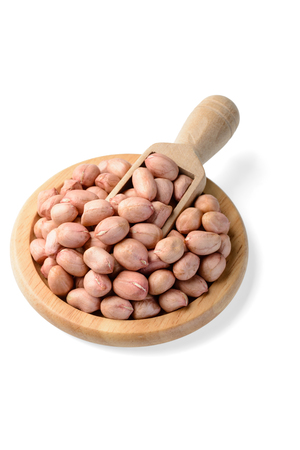 tilt: pink peanuts on white, (large depth of field, taken with tilt shift lens)