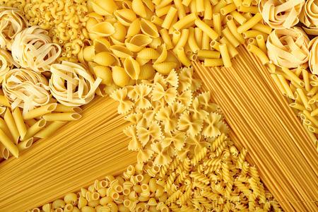 raw pasta Stok Fotoğraf