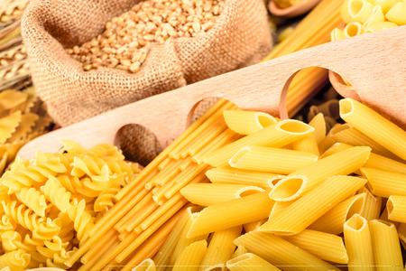 uncooked: uncooked pasta