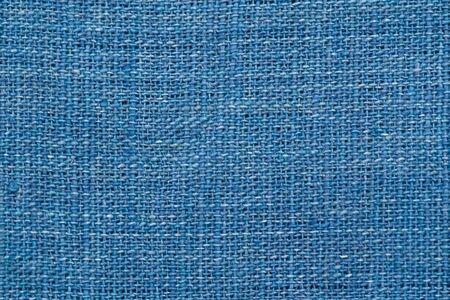 Close up thread linen fabric background texture with copy space