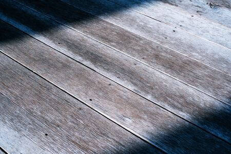 Old Weathered Wood Floor Texture Background close up