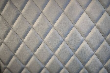 Gray sofa leather textures, surface background close up Stok Fotoğraf