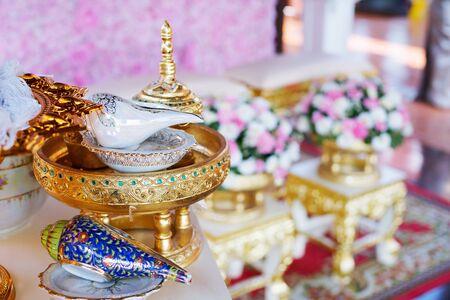 Thai wedding luxury accessory for cultural wedding ceremony