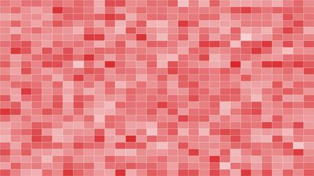 Digitally Pastel mosaic tiles texture background 3D rendering Фото со стока