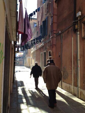 A morning stroll with Venetian men